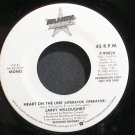 LARRY WILLOUGHBY~Heart On the Line (Operator, Operator)~Atlantic America 99826 Promo VG+ 45