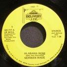 NORMAN WADE~Alabama Rose~Delivery Ltd 777 M- 45