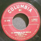 PAUL WESTON~The Morningside of the Mountain~Columbia 39424 (Easy Listening)  45