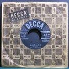 WEBB PIERCE~Wondering~Decca 46364 VG++ 45