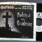 BAD BOB & NEW WORLD CRUSADE~Psalms of the Revolution~Incas 740 Hardcore VG+ 45 EP