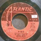 CRAZY WORLD OF ARTHUR BROWN~Fire~Atlantic 2556 (Psychedelic Rock)  45