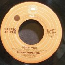 MINNIE RIPERTON~Lovin' You~EPIC 50057 (Soul)  45