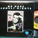 PAUL MCCARTNEY~No More Lonely Nights PS~Columbia 04581 (Soft Rock) VG+ 45