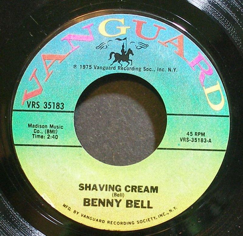 Benny Bell Shaving Cream - The Girl From Chicago