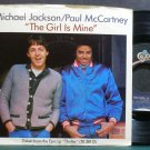 MICHAEL JACKSON & PAUL MCCARTNEY~The Girl is Mine~EPIC 03288  45