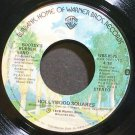BOOTSY'S RUBBER BAND~Hollywood Squares~Warner Bros. 8575 (Funk) VG++ 45