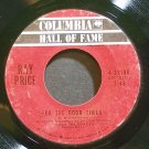RAY PRICE~For the Good Times~Columbia 33196  45