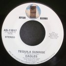 EAGLES~Tequila Sunrise~Asylum 11017 (Classic Rock) 1st VG+ 45