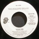 ROLLING STONES~Hang Fire~Rolling Stones 21300 (Classic Rock) Promo VG++ 45