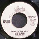 CLASH~Gates of the West~EPIC 1178 (Punk) Promo VG+ 45