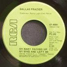 DALLAS FRAZIER~My Baby Packed Up My Mind and Left Me~RCA 9991 Promo 45