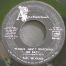 EARL RICHARDS~Margie, Who's Watching the Baby~Ace of Hearts 0461  45