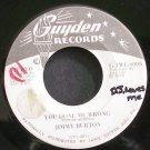 JIMMY BURTON~You Done Me Wrong~Guyden G-TWE-6006 Promo 45