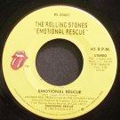 ROLLING STONES~Emotional Rescue~Rolling Stones 20001 (Blues) M- 45