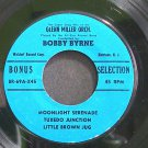 BOBBY BYRNE~Moonlight Serenade~Bonus 69- (Easy Listening) VG+ 45 EP