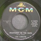 LOU CHRISTIE~Rhapsody in the Rain~MGM K13473 VG+ 45