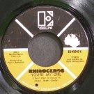 RHINOCEROS~You're My Girl~Elektra 45640 (Psychedelic Rock) VG++ 45