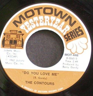 CONTOURS~Do You Love Me~Motown 448 (Soul)  45