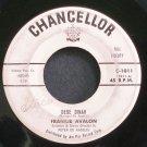 FRANKIE AVALON~Dede Dinah~Chancellor 1011  45