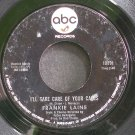 FRANKIE LAINE~I'll Take Care of Your Cares~ABC 10891  45
