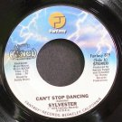 SYLVESTER~Can't Stop Dancing~Fantasy 879 (Disco) M- 45
