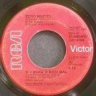 ZERO MOSTEL~If I Were a Rich Man~RCA Victor 0789 (OST)  45