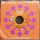 ROGER WILLIAMS~Somewhere, My Love~Kapp 73 (Easy Listening) VG+ 45