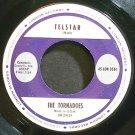 TORNADOS~Telstar~London 9561 (Instrumental Rock) VG+ 45
