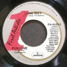 FUNZONE~Long Way~First Artists 41001 (Blues) VG++ 45