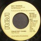 GUY THOMAS~Courtney Dawn~RCA 10727 Promo VG+ 45