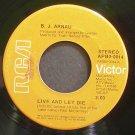 B.J. ARNAU~Live and Let Die~RCA Victor 0014 VG+ HEAR 45