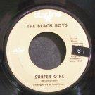 BEACH BOYS~Surfer Girl~Starline 6107 (Surf Rock) Rare 45