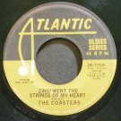 COASTERS & SENSATIONS~Zing! Went the Strings of My Heart~Atlantic 13149 (Doo-Wop)  45