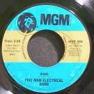 FIVE MAN ELECTRICAL BAND~Signs~MGM 504 (Classic Rock)  45