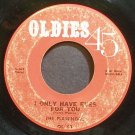 FLAMINGOS~I Only Have Eyes for You~Oldies 45 43 (Doo-Wop) Rare 45