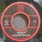 FRANKIE AVALON~Venus~Eric 178  45