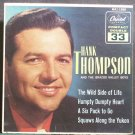 HANK THOMPSON~The Wild Side of Life (PS)~Capitol 1590  45 EP