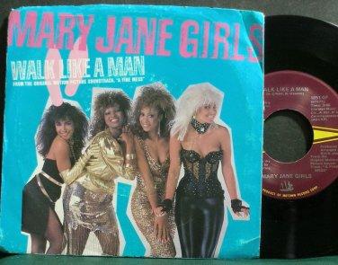 MARY JANE GIRLS~Walk Like a Man~Gordy 1851 GF (Soul) VG++ 45