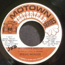 STEVIE WONDER~My Cherie Amour~Motown 421F (Soul)  45