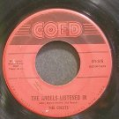 CRESTS~The Angels Listened in~Coed 515 (Doo-Wop)  45