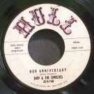 SHEP & THE LIMELITES~Our Anniversary~Hull 45-H-748 (Soul)  45