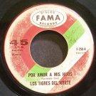 LOS TIGRES DEL NORTE~Por Amor a Mis Hijos~Fama 250  45