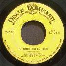 MARTINEZ DE ALLENDE~El Todo Por El Todo~Discos Dominante 524  45