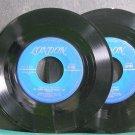BOBBY BREEN~Songs at Yuletide~London 30163 / 30164 (Christmas) VG+ 45 EP
