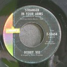 BOBBY VEE~Strange in Your Arms~Liberty 55654 VG+ 45