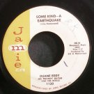 DUANE EDDY~Some Kind - A Earthquake~Jamie 1130 (Instrumental Rock)  45