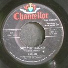 FABIAN~Got The Feeling~Chancellor 1041 (Rock & Roll)  45