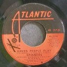 SPINNERS~Games People Play~Atlantic 3284 (Soul) VG+ 45