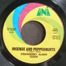 STRAWBERRY ALARM CLOCK~Incense and Peppermints~UNI 55018 (Psych) VG+ 45